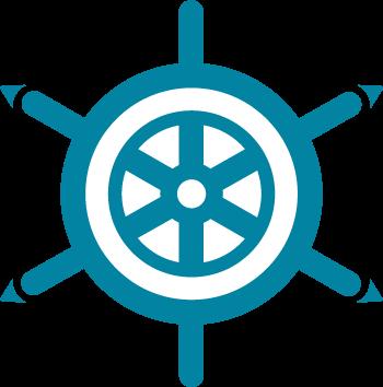 Barre de bateau pour les Îles du Salut