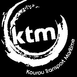 KTM logo blanc