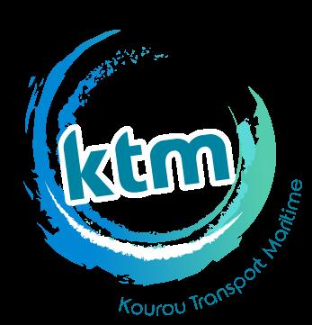 Logo KTM Kourou Transport Maritime pour les Îles du Salut